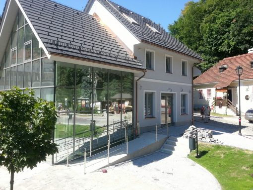 Pozemné stavby – Informačné centrum