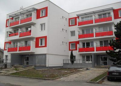 Pozemné stavby – Bytový dom Bôrik